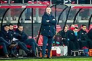 ALKMAAR - 21-01-2017, AZ - Sparta, AFAS Stadion, 1-1, AZ trainer John van den Brom