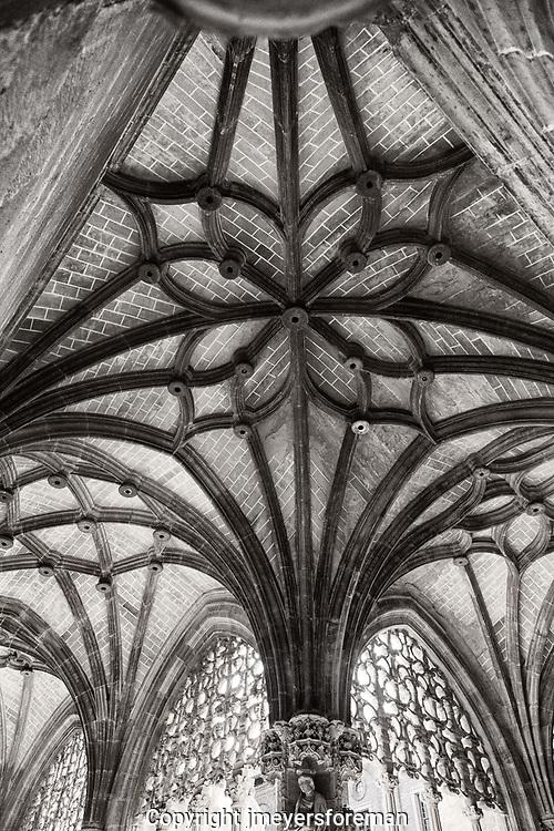 Monasterio de Santa Maria de Real_ribbed vault arche