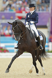Lindh, Mikaela, Mas Guapo<br /> London - Olympische Spiele 2012<br /> <br /> Grand Prix Special, Teamwertung<br /> © www.sportfotos-lafrentz.de/Stefan Lafrentz