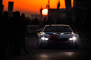 March 15-17, 2018: Mobil 1 Sebring 12 hour. 25 BMW Team RLL, BMW M8 GTLM, Alexander Sims, Connor De Phillippi, Bill Auberlen, Philipp Eng