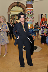 NANCY DELL'OLIO at the annual Royal Academy of Art Summer Party held at Burlington House, Piccadilly, London on 4th June 2014.