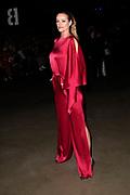 Het ontwerpduo Diek Pothoven en Luuk Kuijf onder de gezamenlijke naam MARTAN presenteren hun debuutcollectie tijdens de openingsshow van Mercedes-Benz FashionWeek Amsterdam. <br /> <br /> Op de foto:  Inge de Bruijn