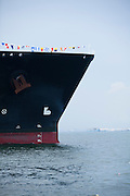 BG's First delivery of LNG to Singapore 's SLNG by Methane Kari Elin. 8th May 2013