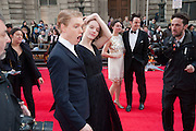 FREDDIE FOX; TAMZIN MERCHANT, Olivier Awards 2012, Royal Opera House, Covent Garde. London.  15 April 2012.
