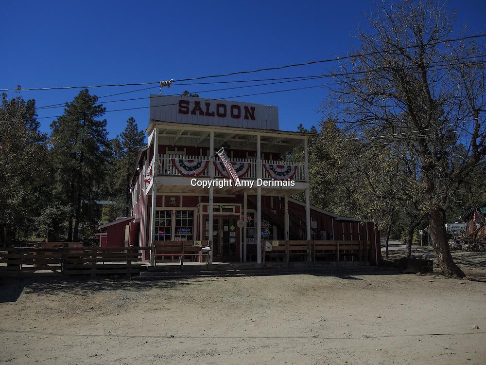 High Desert Test Sites 2013. Saloon in Crown King, AZ