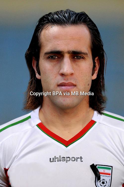 Asian Football Confederation - ASIAN CUP 2015 - Qualifing Match /<br /> Lebanon vs Iran 1-4  ( Sports City Stadium  - Beyrut , Lebanon ) <br /> Ali Karimi of Iran , during the match between Lebanon and Iran