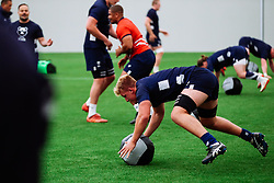 James Dun in action as Bristol Bears start to use their new almost completed Training centre - Rogan/JMP - 08/07/2020 - RUGBY UNION - Beggar Bush Lane - Bristol, England.