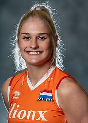 14-05-2019 NED: Photoshoot national volleyball team Women, Arnhem<br /> Hester Jasper of Netherlands