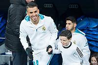 Real Madrid Dani Ceballos during King's Cup match between Real Madrid and CD Numancia at Santiago Bernabeu Stadium in Madrid, Spain. January 10, 2018. (ALTERPHOTOS/Borja B.Hojas)