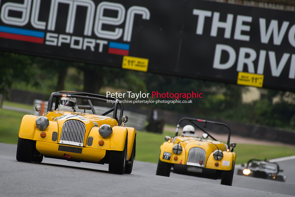 #67 Dominic HOUSE Morgan Roadster during AR Motorsport Morgan Challenge as part of the Vintage Sports-Car Club Formula Vintage Festival at Oulton Park, Little Budworth, Cheshire, United Kingdom. June 10 2017. World Copyright Peter Taylor/PSP. Copy of publication required for printed pictures.  Every used picture is fee-liable. http://archive.petertaylor-photographic.co.uk