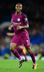 Raheem Sterling of Manchester City - Mandatory by-line: Alex James/JMP - 30/09/2017 - FOOTBALL - Stamford Bridge - London, England - Chelsea v Manchester City - Premier League