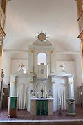 Kirche innen, Denstedt bei Weimar, Thüringen, Deutschland | church, Denstedt near Weimar, Thuringia, Germany