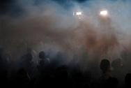 "Baile Funk in the favela Morro dos Prazeres, in the borough of  Santa Teresa. During the filming of ""Favela on Blast"". || Baile Funk dans la favela du Morro dos Prazeres, dans le quartier de Santa Teresa. Tournage du film ""Favela on Blast"".  ."