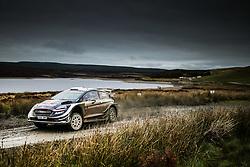 October 5, 2018 - Grande Bretagne - Teemu Suninen (FIN) - Mikko Markkula (FIN) - Ford Fiesta WRC (Credit Image: © Panoramic via ZUMA Press)