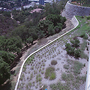 Capturing the amazing vistas afford to visitors of the Getty Center - the mini Louvre of the West. Wilshire Blvd and Century City towers loom in the background in this shot.