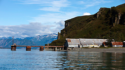 Snug Harbor Cannery, Chisik Island, Tuxedni Wilderness, Alaska Maritime National Wildlife Refuge, Alaska, United States of America