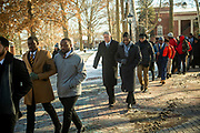 MLK Silent March and Brunch. Photo by Ben Siegel