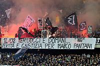 striscione tifosi Cesena<br /> Cesena 15-02-2015 Stadio Dino Manuzzi, Football Calcio Serie A Cesena Juventus Foto Image Sport / Insidefoto