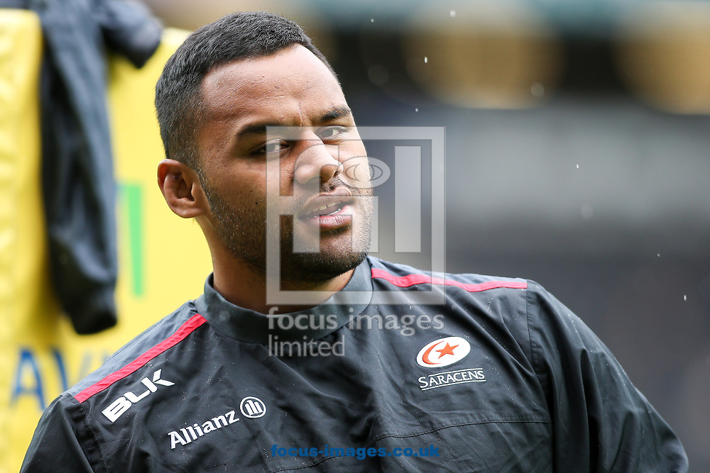 Billy Vunipola of Saracens during the Aviva Premiership match at stadium:mk, Milton Keynes<br /> Picture by Andy Kearns/Focus Images Ltd 0781 864 4264<br /> 16/04/2017