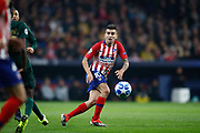 Angel Correa of Atletico de Madrid during the UEFA Champions League, Group A football match between Atletico de Madrid and AS Monaco on November 28, 2018 at Wanda Motropolitano stadium in Madrid, Spain - Photo Oscar J Barroso / Spain ProSportsImages / DPPI / ProSportsImages / DPPI