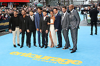 Rob Weiss, Jeremy Piven, Jerry Ferrara, Adrian Grenier, Kevin Connolly, Emmanuelle Chriqui, Kevin Dillon, Doug Ellin, Thierry Henry, Entourage - European Film Premiere, Leicester Square, London UK, 09 June 2015, Photo by Richard Goldschmidt