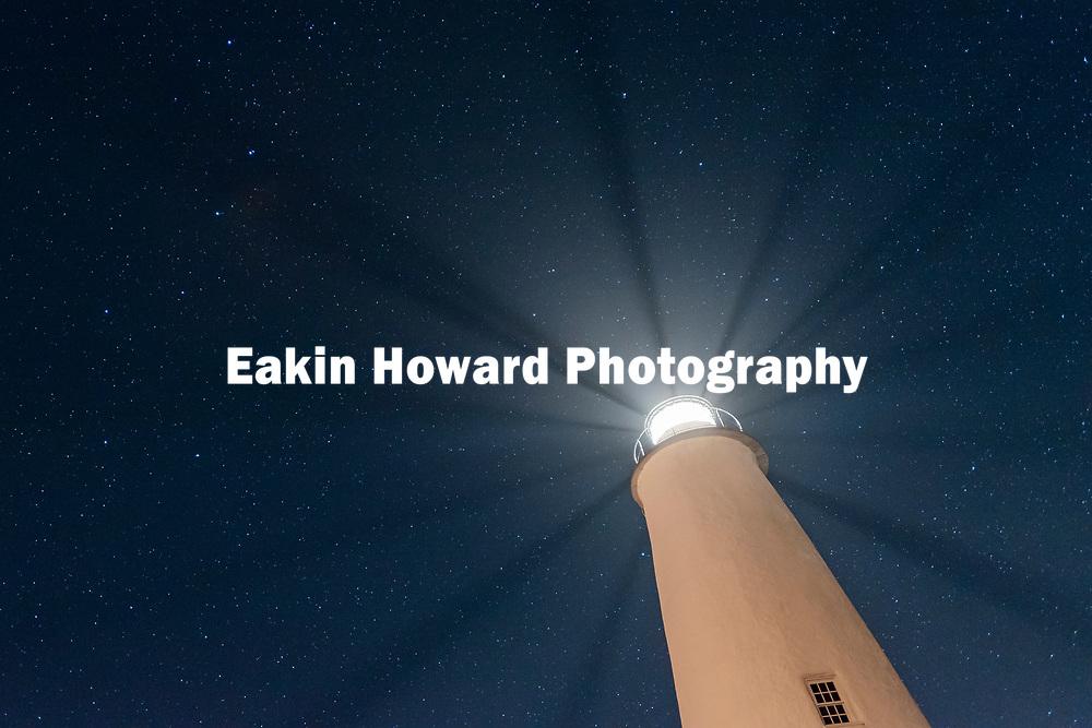 At the Ocracoke Lighthouse on Ocracoke Island, NC on May 19, 2018.