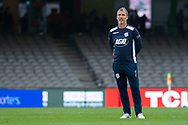 Adelaide United head coach Marco Kurz looks on at the Hyundai A-League Round 7 soccer match between Melbourne Victory v Adelaide United at Marvel Stadium in Melbourne, Australia.