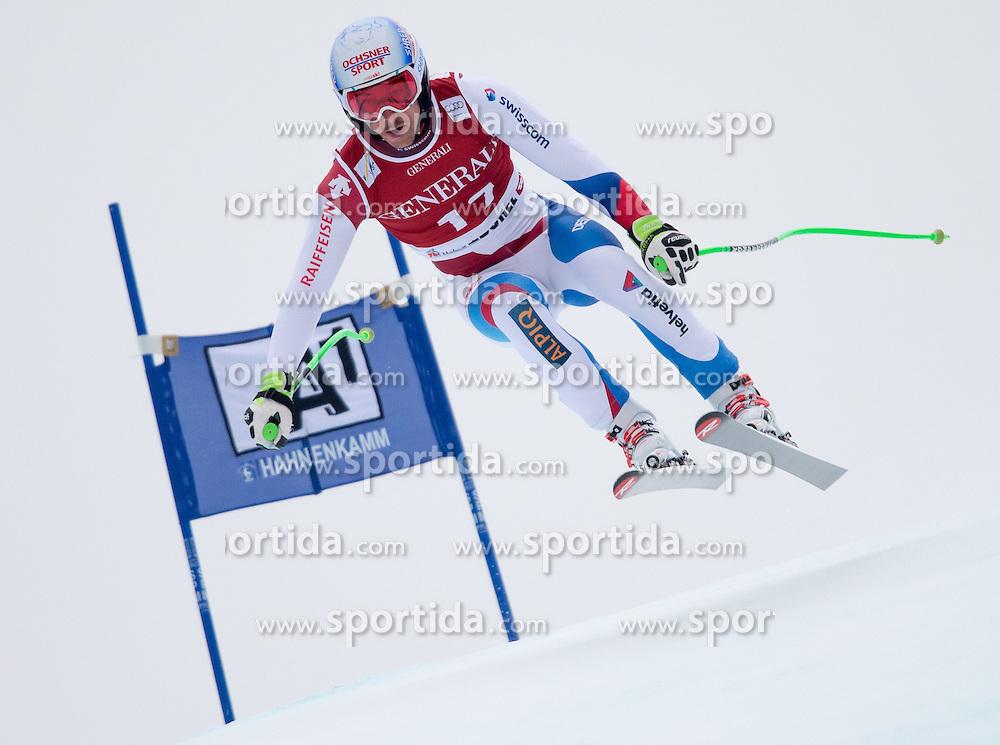 23.01.2015, Streif, Kitzbuehel, AUT, FIS Ski Weltcup, Supercombi Super G, Herren, im Bild Carlo Janka (SUI) // Carlo Janka of Switzerland in action during the men's Super Combined Super-G of Kitzbuehel FIS Ski Alpine World Cup at the Streif Course in Kitzbuehel, Austria on 2015/01/23. EXPA Pictures © 2015, PhotoCredit: EXPA/ Johann Groder