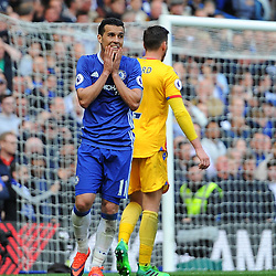 Pedro of Chelsea looks frustrated during Chelsea vs Crystal Palace, Premier League , 01.04.17 (c) Harriet Lander | SportPix.org.uk