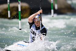 Viktoria WOLFFHARDT of Austria during the Canoe Single (WK1) Womens Semi Final race of 2019 ICF Canoe Slalom World Cup 4, on June 28, 2019 in Tacen, Ljubljana, Slovenia. Photo by Sasa Pahic Szabo / Sportida