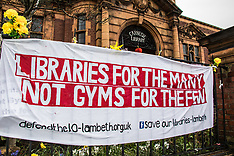 3 Apr 2018 - Protesters rally to highlight the plight of the Carnegie library.