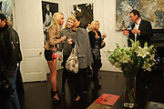 Noelle Reno; Amber Nuttall; Patti Wong; lord Julian Mountan, Gino Hollander exhibition, Also a chance to see  the flat at 105-106 Lancaster Gate which is for sale. London. 4 February 2010.