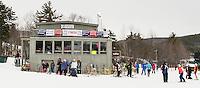 Francis Piche Slalom U14 ladies Sunday, March 15, 2015.  Karen Bobotas Photographer