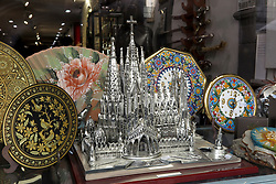 SPAIN CATALONIA BARCELONA 13MAR17 - Scale model of the Sagrada Familia, a mammoth Basilica construction project spanning more than a century by Catalan architect Antoni Gaudi.<br /> <br /> jre/Photo by Jiri Rezac<br /> <br /> &copy; Jiri Rezac 2017