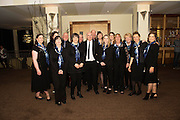 Medtronic Chorale who won Choir Factor, hosted by  SCCUL enterprises and supported by the Corrib Lions Club in aid of the SCCUL Sanctuary, Clarinbridge at the Radisson blu hotel.<br /> Photo:Andrew Downes