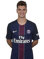 Thomas Meunier of PSG during PSG photo call for the 2016-2017 Ligue 1 season on September, 7 2016 in Paris, France<br /> Photo : C.Gavelle/ PSG / Icon Sport