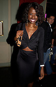 Jane Sarpong. Michelle Watches Kaleidoscope Summer party. Home House. 15 June 2005 ONE TIME USE ONLY - DO NOT ARCHIVE  © Copyright Photograph by Dafydd Jones 66 Stockwell Park Rd. London SW9 0DA Tel 020 7733 0108 www.dafjones.com