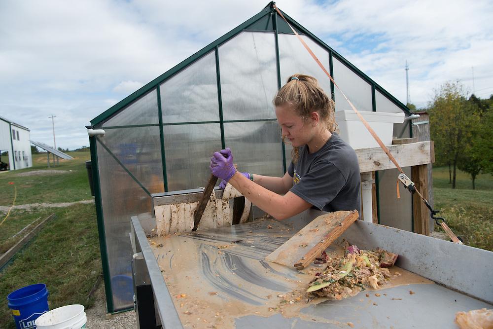 biodigester, compost facility, Ridges, sarah davis, Students, Undergraduate Research Sarah Davis, Biofuel, Ridges, Voinovich School