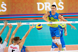Alen Sket of Slovenia during volleyball match between National teams of Slovenia and Canada at Volleyball Challenge Ljubljana 2018, on September 6, 2018 in SRC Stozice, Ljubljana, Slovenia. Photo by Urban Urbanc / Sportida