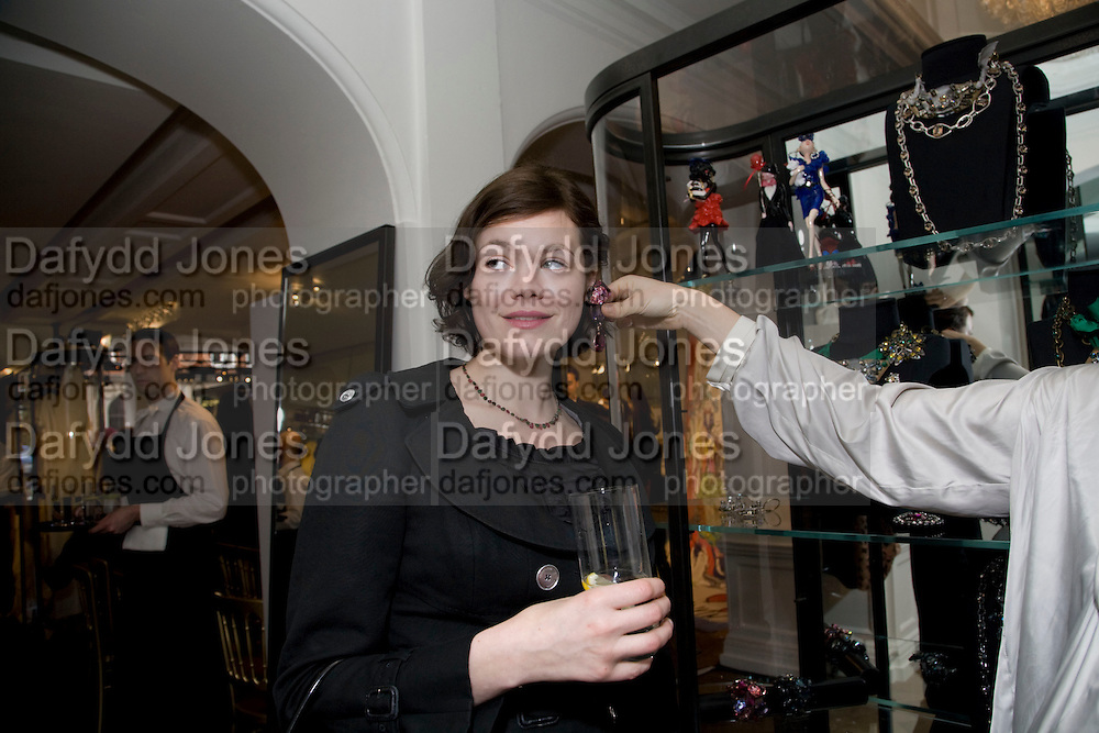 JASMINE GUINNESS; JANE GOTTSCHALK The Launch of the Lanvin store on Mount St. Presentation and cocktails.  London. 26 March 2009