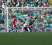 Joe Ledley scores Celtic's fourth - Celtic v Dundee,  at Celtic Park in the Clydesdale Bank Scottish Premier League.. - © David Young - www.davidyoungphoto.co.uk - email: davidyoungphoto@gmail.com