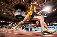 The Millrose Games at Madison Square Garden.