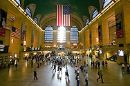 A moment in time in Grand Central Station, New York.
