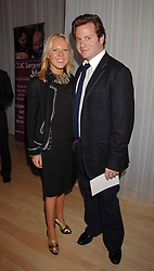 ALICE BAMFORD and her brother GEORGE BAMFORD at an Evening at Sanderson in Aid of CLIC Sargent held at The Sanderson Hotel, 50 Berners Street, London W1 on 15th May 2007.<br />