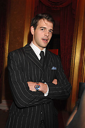 MR HARRY SOAMES son of Nicholas Soames MP at a party to celebrate the launch of the 'Inde Mysterieuse' jewellery collection held at Lancaster House, London SW1 on 19th September 2007.<br /><br />NON EXCLUSIVE - WORLD RIGHTS