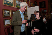 Party to celebrate the publication of Animal Magic by Andrew Barrow. Tite St. London. 28 February 2011.  -DO NOT ARCHIVE-© Copyright Photograph by Dafydd Jones. 248 Clapham Rd. London SW9 0PZ. Tel 0207 820 0771. www.dafjones.com.