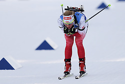 11.03.2016, Holmenkollen, Oslo, NOR, IBU Weltmeisterschaft Biathlon, Oslo, 4x6 Km Staffel, Damen, im Bild Weronika Nowakowska (POL) // during 4x6 km women relay of the IBU World Championships, Oslo 2016 at the Holmenkollen in Oslo, Norway on 2016/03/11. EXPA Pictures © 2016, PhotoCredit: EXPA/ Newspix/ Tomasz Jastrzebowski<br /> <br /> *****ATTENTION - for AUT, SLO, CRO, SRB, BIH, MAZ, TUR, SUI, SWE only*****