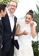 "James Gray & Marion Cotillard attends the photocall of ""The Immigrant"" at the Palais De Festivals, Cannes France on May 24, 2013 in Cannes, France"