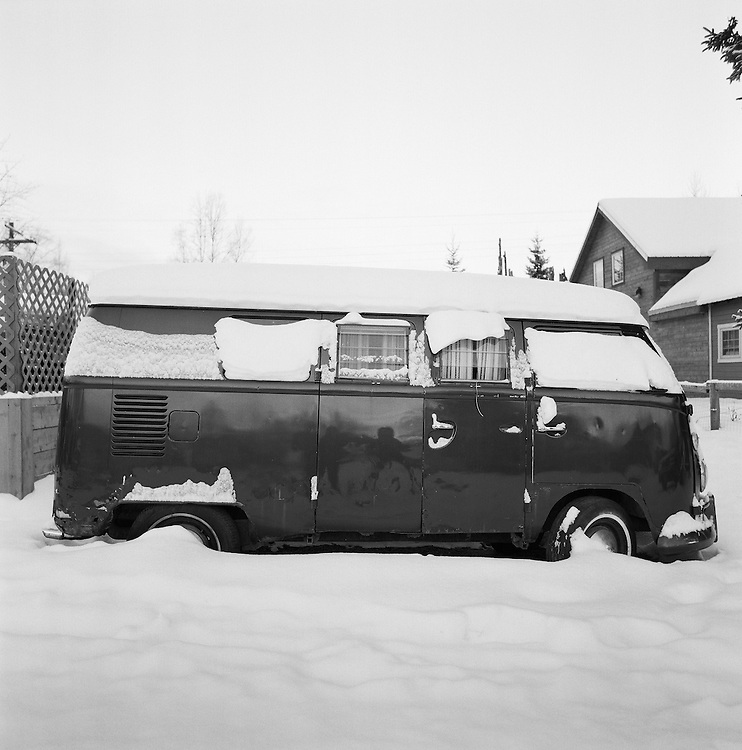 Van in Talkeetna, Alaska. 2008