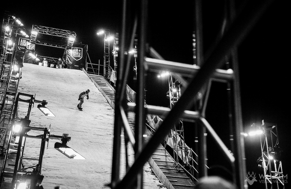 Yuki Kadono - Snowboard Finals at Air & Style LA at the Rose Bowl in Pasadena, CA. ©Brett Wilhelm/ESPN